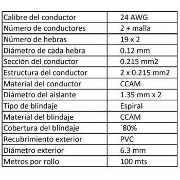 MBC24-100M-BK-caracteristicas