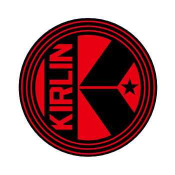 2641-X1P-BK-KIRLIN LOGO